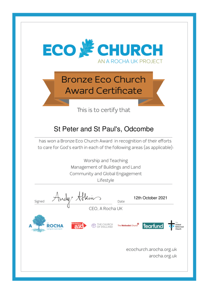 This image has an empty alt attribute; its file name is St-Peter-and-St-Pauls-Odcombe-Eco-Church-Award__-Certificate-Bronze-730x1024.png